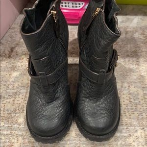 Tory Burch Shoes - Tory Burch pebbled leather booties